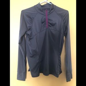 Athleta quarter zip up